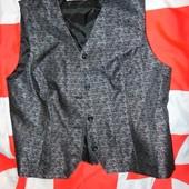 Брендовая стильная нарядная жилетка болеро  Bianca  м-л .