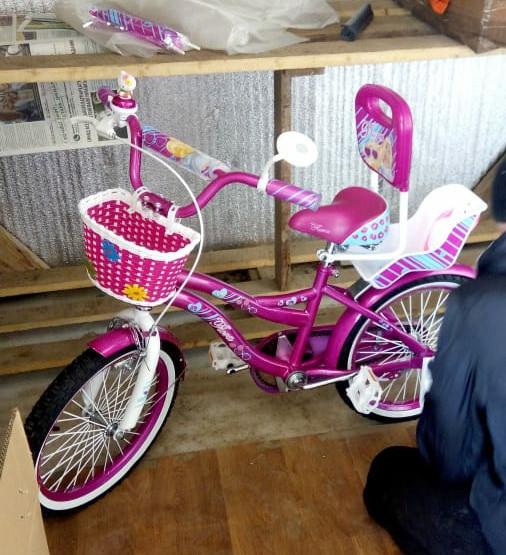Сигма флора 12 14 16 18 20  дюймов велосипед детский двухколесный sigma flora фото №1
