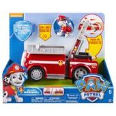 Paw Patrol Маршалл с пожарной машиной со звуковыми эффектами Щенячий патруль