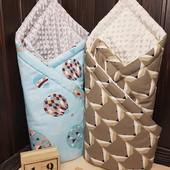 Чудесные одеялко-конверт-пледик