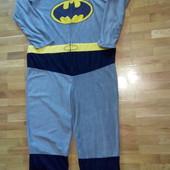Пижама комбинезон флис Бетмен домашняя одежда