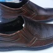 Туфли коричневые