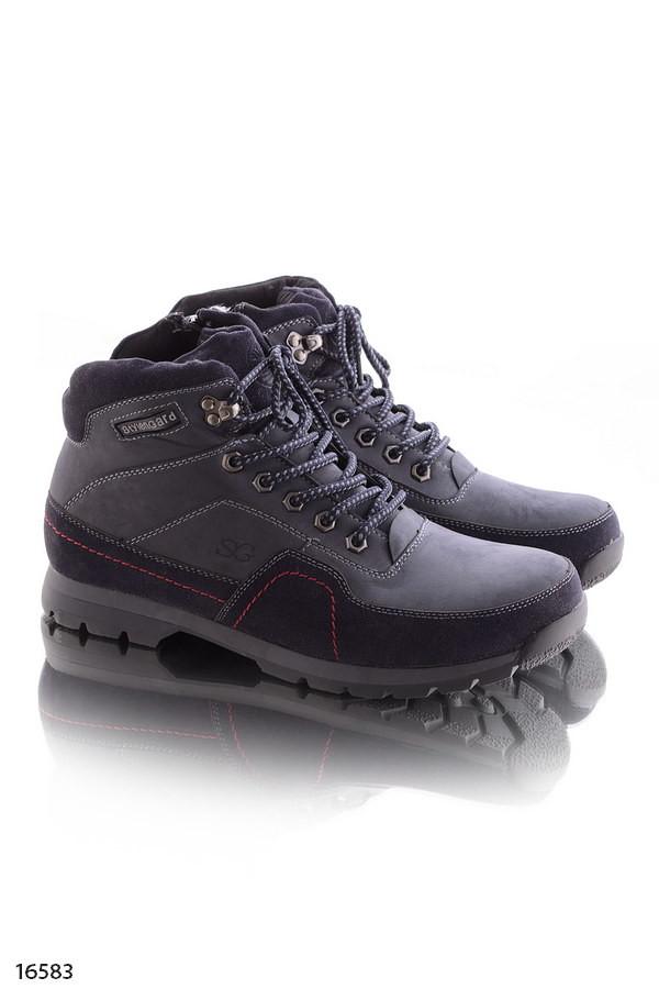 Зимние женские теплые ботинки на меху фото №2