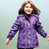 Крутая термо куртка дождевик на флисе 86-92 ТСМ Tchibo