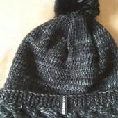 Фирменная тёплая шапка на флисе Adidas Neo р.56