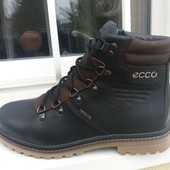 Ботинки зимние, в стиле Ecco, натур. кожа, р. 40-45, код sip-2019-1