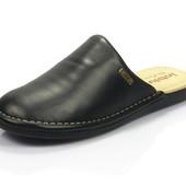 100-VN-D2-014  тапочки домашние мужские  Inblu Инблу очень стильные и красивые Цвет - черный