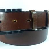 Джинсовый кожаный ремень Giorgio Armani