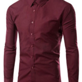Рубашка мужская с длинным рукавом новая