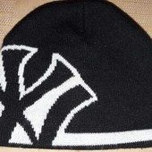 Двойная шапка фирменная New York р.56