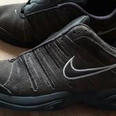 Замшевые кроссовки фирменные Nike р.45-28.5см