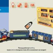 Железная дорога на батарейках, радиоуправление