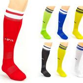 Гетры футбольные мужские Fifa 5507, 7 цветов: 40-45 размер, х/б + нейлон