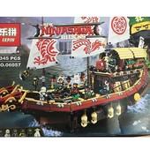 конструктор lepin 06057 ninjago movie летающий корабль мастера ву (аналог lego ninjago 70618)
