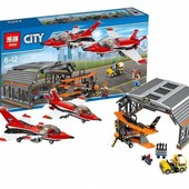 Конструктор Lepin 02007 Авиашоу | аналог Lego City 60103