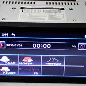 2din pioneer 1369 gps dvd usb sd tv + 8gb карта памяти c навигацией