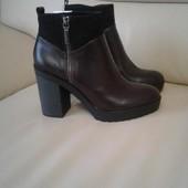 Очень стильные демисезонные ботинки bershka