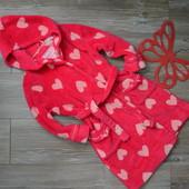 Халат в сердечко (4-5 лет)