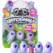 Hatchimals Набор 4 коллекционные фигурки в яйцах бонусная и фигурка colleggtibles 4-pack+bonus