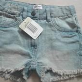 Джинсовые шорты девочке