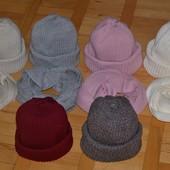 Объемная шапка и хомут