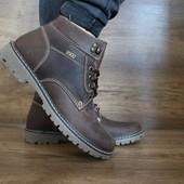Мужские зимние ботинки PAV brown