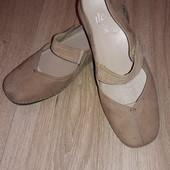 Туфли балетки Clarks р.7 стелька 26 см.