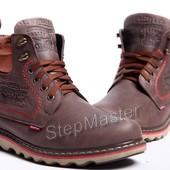 Ботинки кожаные Levis Western Brown