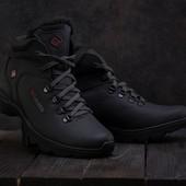 Мужские зимние ботинки Сalumbia black 601W-M1