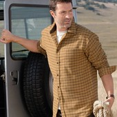 Фланелевая рубашка Atlas for Men! размер XL