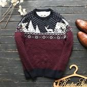 Зимний мужской свитер Next рр Л