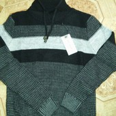 Турецкие мужские свитера хомут горло размеры M. L