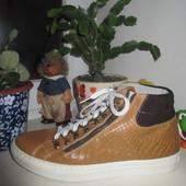 Кожаные итальянские ботинки 43 р