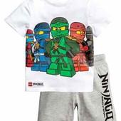 Комплект футболка шорты Lego ninjago, H&M