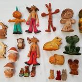 флоковые и поролоновые игрушки СССР. паралоновые , флок . с 50-х годов