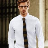 Белая бизнес рубашка приталенная Nobel League Германия