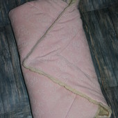 Одеялко детское,можно в коляску,как конверт,в санки