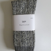 Вязаные полу-шерстяные мужские носки от Laze, 40-43