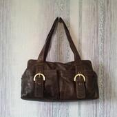 Кожаная сумка F&F.