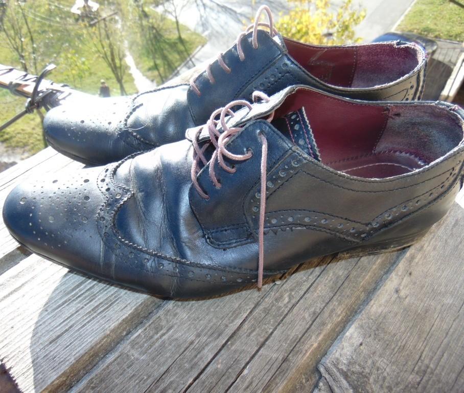 Стильние фирменние брендовие  туфли Burton .42 фото №2