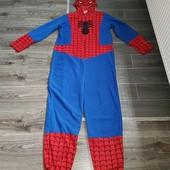 Пижама-костюм Спайдермена, рост до 190см, состояние новой вещи!