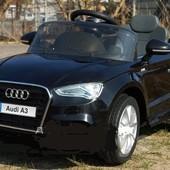 Детский электромобиль T-795 Audi A3 black
