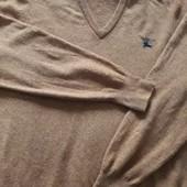 Фирменный шерстяной свитер Burberry р.50