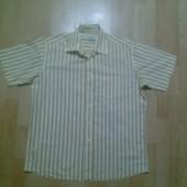 Фирменная рубашка L