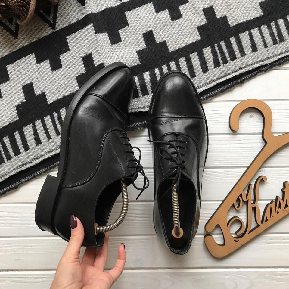 Кожаные туфли Samuel Windsor р-р 42-43 фото №1