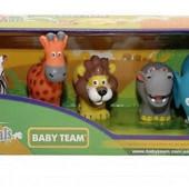 Распродажа - Игровой набор 5шт. Сафари от Baby Team дикие животные африки
