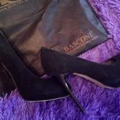 Замшевые туфли Basconi р.35 (23 см)