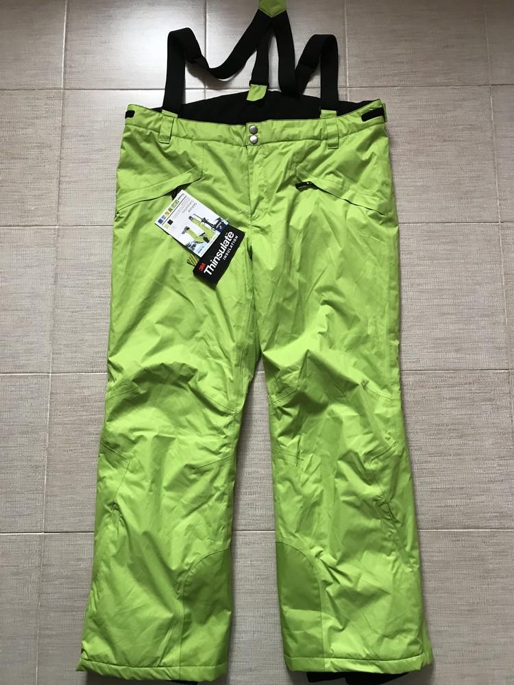 Теплые лыжные зимние брюки штаны xl тсм tchibo германия фото №8