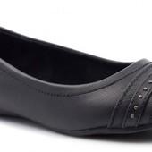 Удобные туфли балетки Plato кожаная стелька, р.36, длина 22,5 см