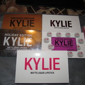Набор матовых помад Kylie, суперстойкие помады